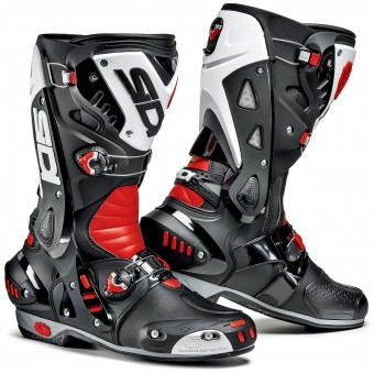 Bottes Moto SIDI Vortice Black Red White