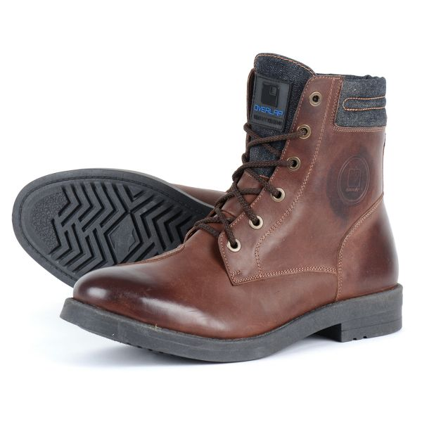 Chaussures Moto Overlap 23 Brown