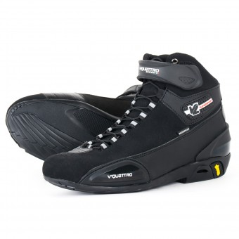 Chaussures Moto V'Quattro Supersport WP Black