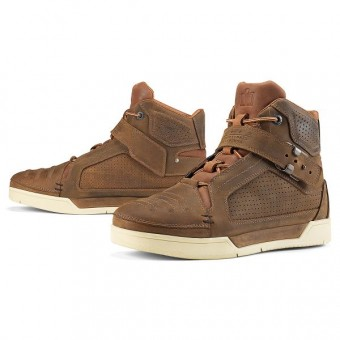 Chaussures Moto ICON Truant Oiled Brown