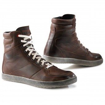 Chaussures Moto TCX X-Wave Waterproof Vintage Brown