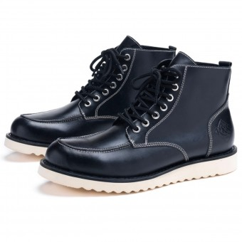 Chaussures Moto Ride & Sons Desert Moc Mid Boot Black