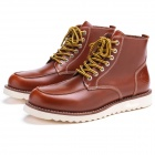Chaussures Moto Ride & Sons Desert Moc Mid Boot Brown