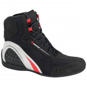 Chaussures Moto Dainese Motorshoe Lady D-WP Black White Red