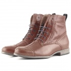 Chaussures Moto Overlap Richplace Brown