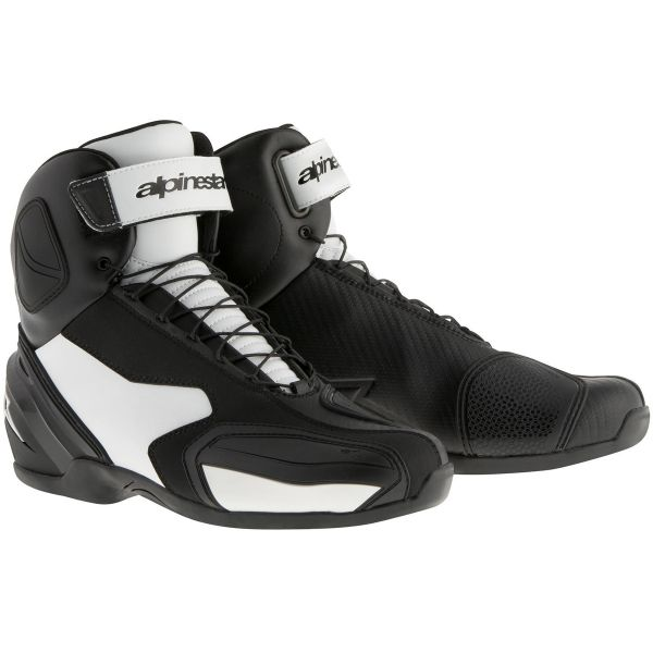 Chaussures Moto Alpinestars SP-1 Boot Black White