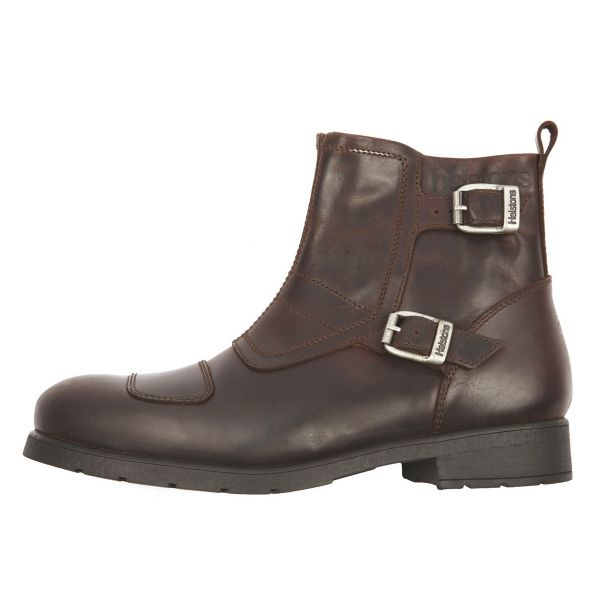 Chaussures Moto Helstons Trail Leather Split Brown