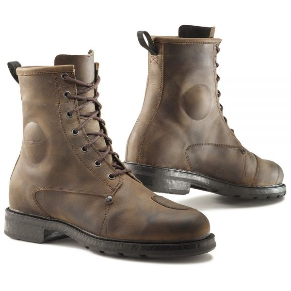 Chaussures Moto TCX X-Blend Waterproof Vintage Brown