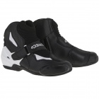 Demi-bottes Alpinestars SMX-1 R Vented Black White