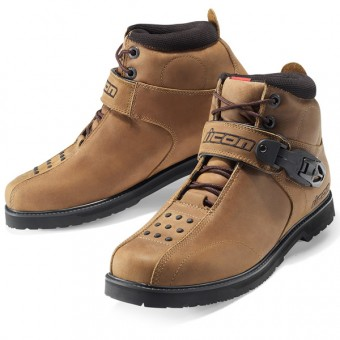 Chaussures Moto ICON Superduty 4 Brown
