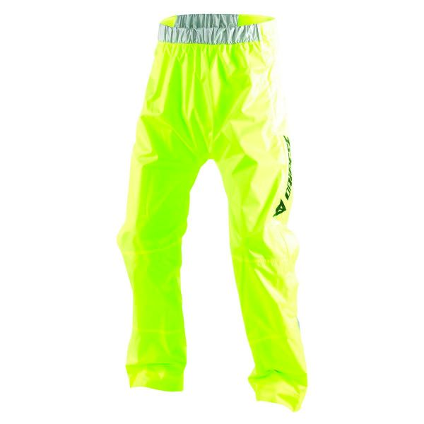 Equipement Pluie Moto Dainese D-Crust Plus Pant Yellow Fluo