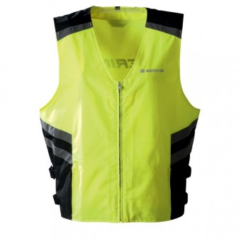equipement pluie moto bering gilet h v jaune fluo. Black Bedroom Furniture Sets. Home Design Ideas