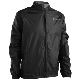 Equipement Pluie Moto Thor Pack Jacket Black Charcoal