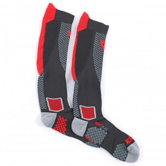 Protection Froid Dainese D-Core High Sock Black Red