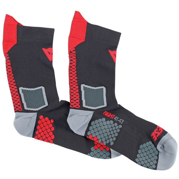 Protection Froid Dainese D-Core Mid Sock Black Red