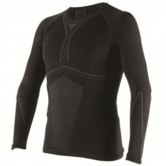 Maillot Froid Dainese D-Core Dry Tee LS Black Anthracite