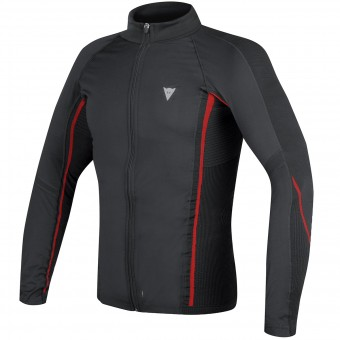 Maillot Froid Dainese D-Core No-Wind Thermo Tee Black Red