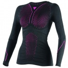 Maillot Froid Dainese D-Core Thermo Tee LS Lady Black Pink