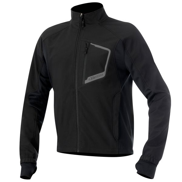 Maillot Froid Alpinestars Tech Layer Top Black