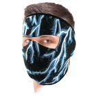 Masque Zanheadgear Blue Lightning