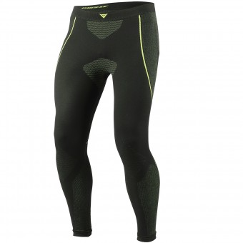 Pantalon Froid Dainese D-Core Dry Pant LL Black Neon Yellow