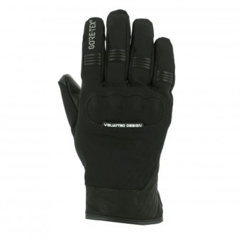 Gants Moto V'Quattro Commuter 17 2.1 Gore-Tex Black