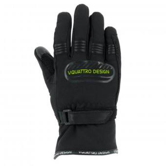Gants Moto V'Quattro Core 17 Kid Black Green