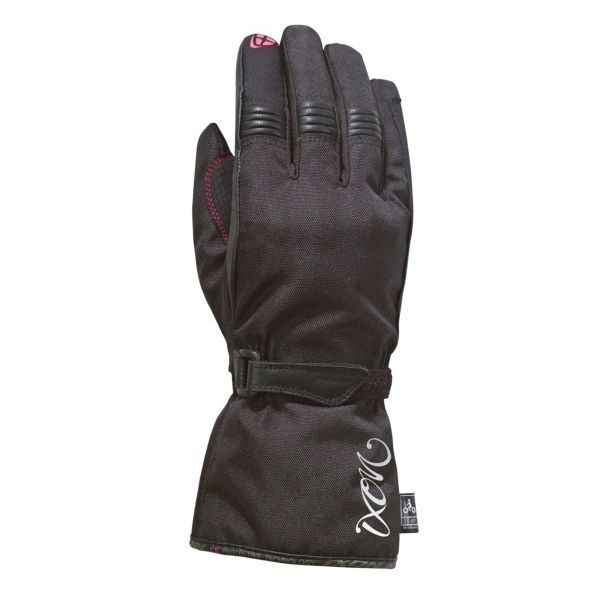 Gants Moto Ixon Pro Rush Lady Black Fuschia