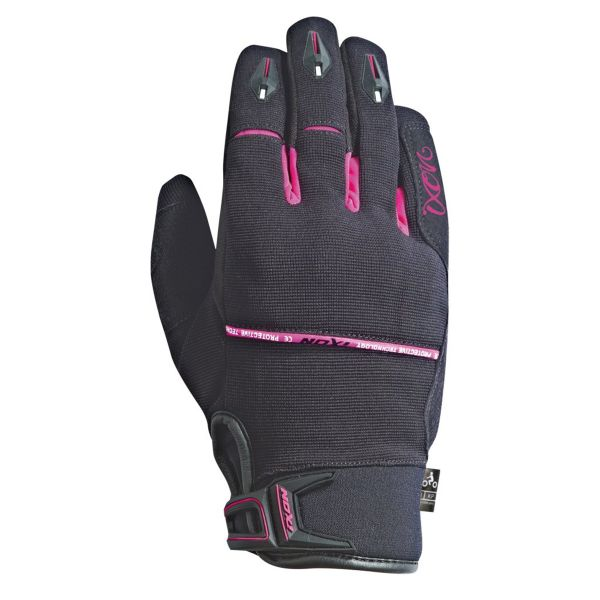 Gants Moto Ixon Rs Dry 2 Lady Black Fuschia