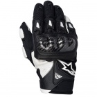 Gants Moto Alpinestars SMX-2 Air Carbon Noir Blanc