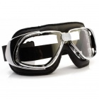 Masque Moto Nannini Rider Chrome Black