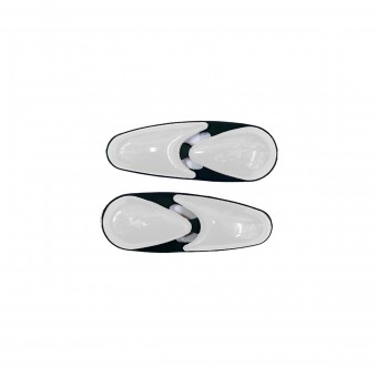 Sliders Moto Alpinestars SMX - Supertech - GP Tech R Toe Slider Boots White