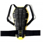 Dorsale Moto Spidi Back Warrior Evo Noir/Jaune