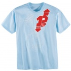 T-Shirts Moto ICON One Down Tee Powder Blue