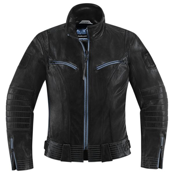 Blouson Moto ICON 1000 Fairlady Black