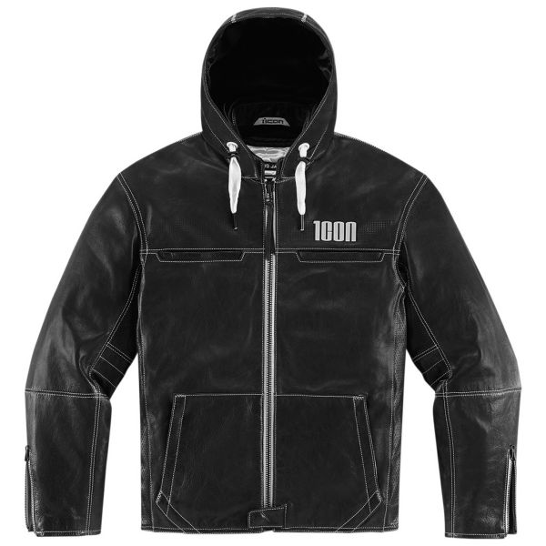 Blouson Moto ICON 1000 Hood Black