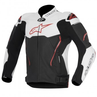 Blouson Moto Alpinestars Atem Black White Red