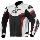 Blouson Moto Alpinestars Celer Leather Black White Red
