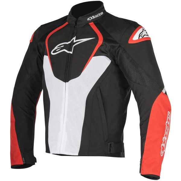 Blouson Moto Alpinestars T-Jaws V2 Air Black White Red