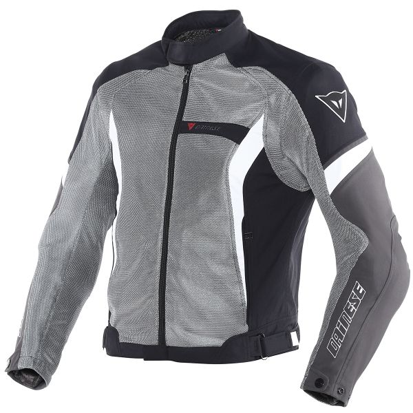 Blouson Moto Dainese Air Crono Anthracite Black White