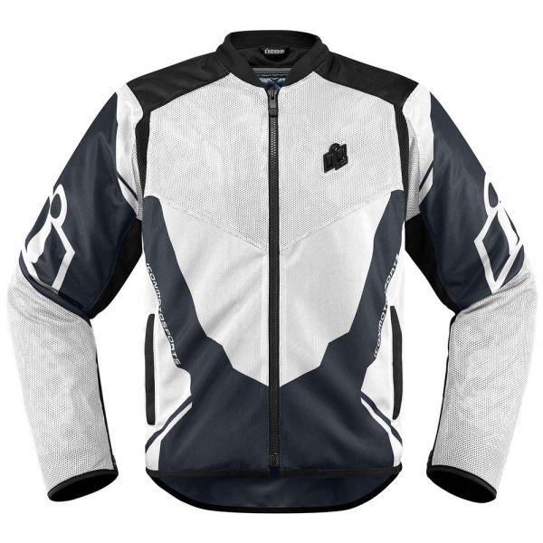 Blouson Moto ICON Anthem 2 White