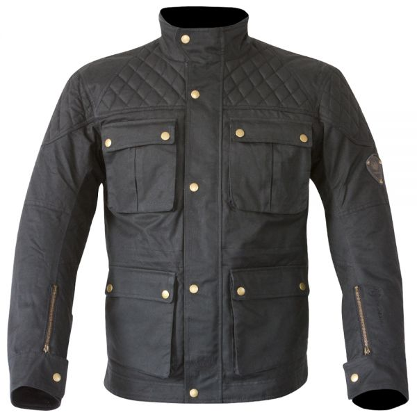 Blouson Moto Merlin Armitage Wax Black