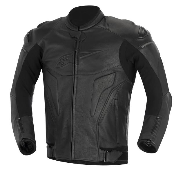 Blouson Moto Alpinestars Black Shadow Phantom Noir