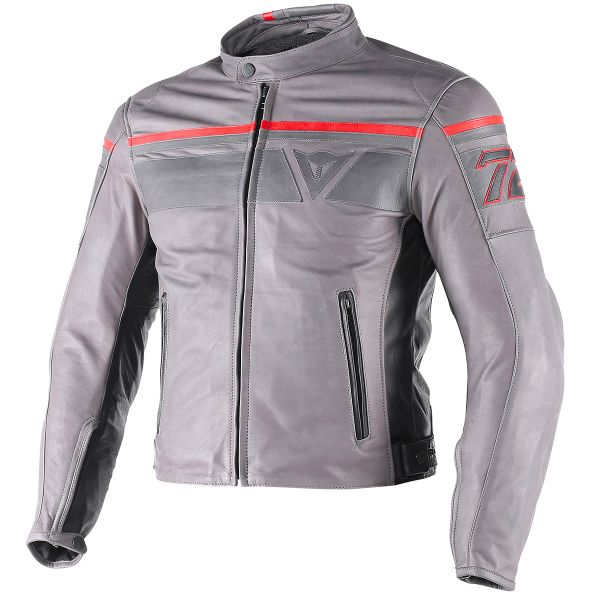 Blouson Moto Dainese Blackjack Black Metallic