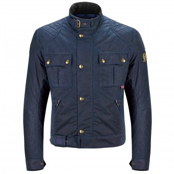 Blouson Moto Belstaff Brooklands Navy Blue