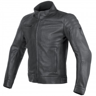 Blouson Moto Dainese Bryan Leather Black