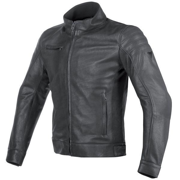 blouson moto dainese bryan leather black cherche propri taire. Black Bedroom Furniture Sets. Home Design Ideas