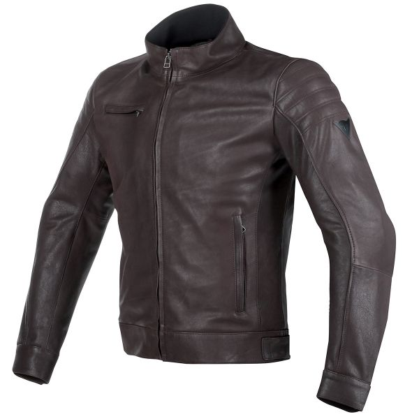 Blouson Moto Dainese Bryan Leather Brown