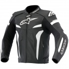 Blouson Moto Alpinestars Celer Leather Black White
