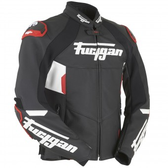 Blouson Moto Furygan Cobra Black White Red